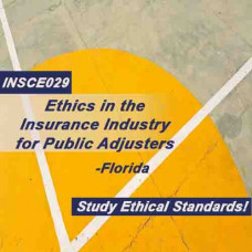 Florida - ETHICS IN THE INSURANCE INDUSTRY FOR PUBLIC ADJUSTERS (3-20) (INSCE029FL8)